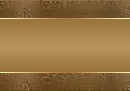 brown background with copy space Stock Vector - 13565005