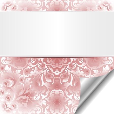 marcos decorados: de fondo de color rojo brillante con adornos