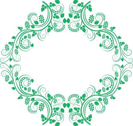 decorative frame - clip art illustration Illustration