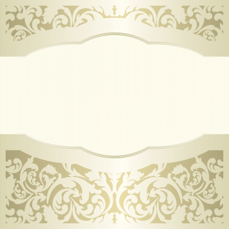 pale yellow: pale yellow background with ornaments