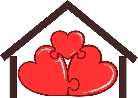 symbol of the home  Vector