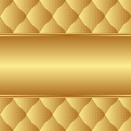 fond d'or, avec copie espace