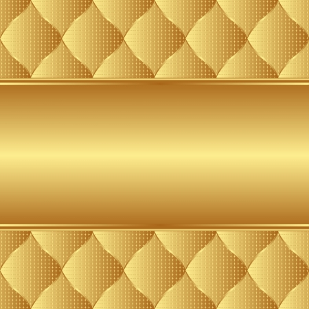 golden background with copy space Vector