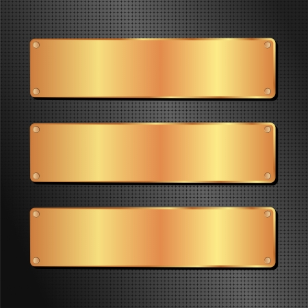 black and golden background with copy space Stock Vector - 15239083