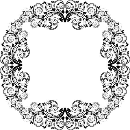 quadratic: marco decorativo