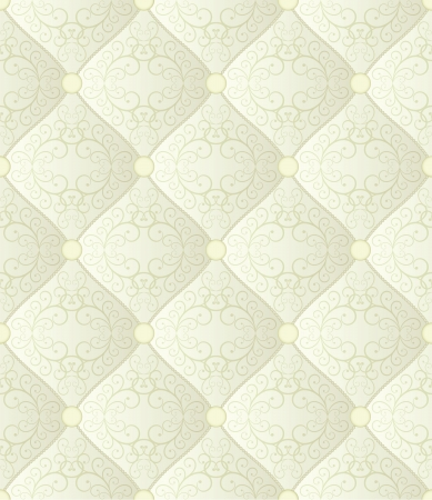 creamy seamless background - quilted fabric