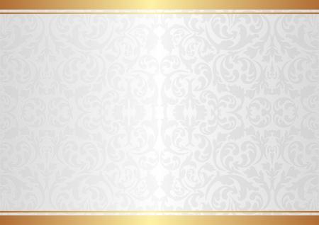 白の背景に装飾品  イラスト・ベクター素材