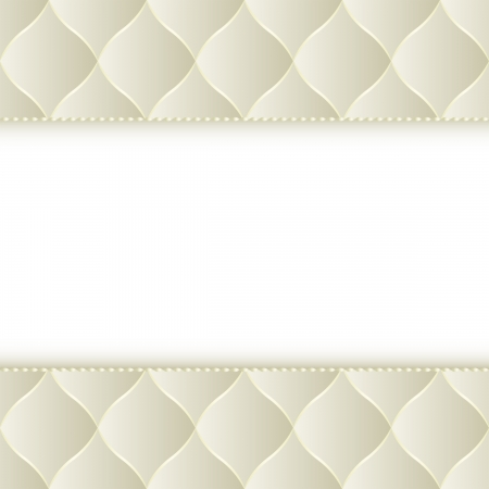 quilted fabric: creamy background with copy space