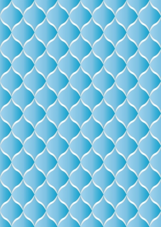 quilted fabric: blue background - seamless