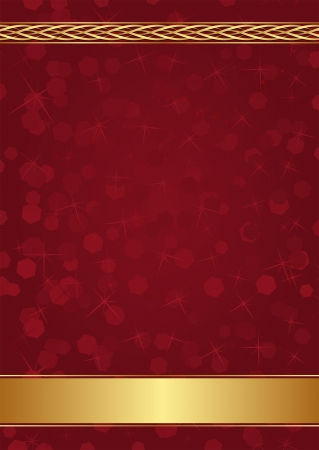 claret and gold background