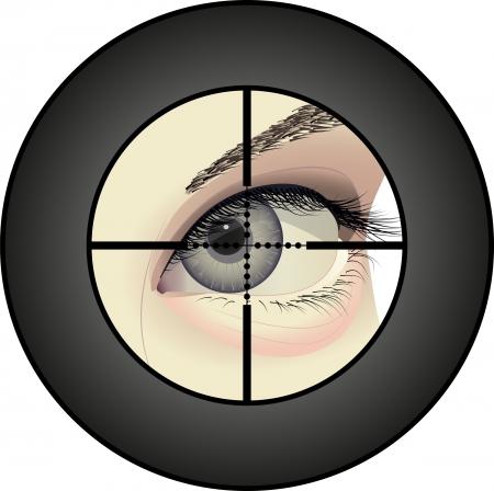 voyeur: sniper Illustration