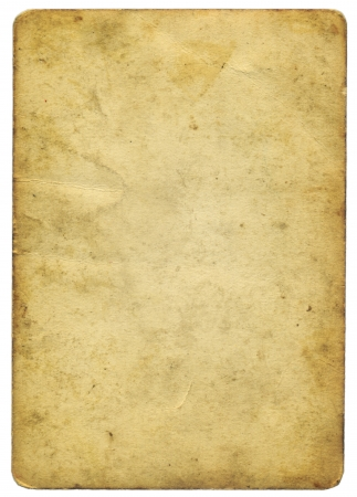 yellowed: old yellowed paper