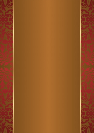 bronze background: brown background with ornaments