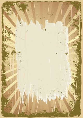 splashed: grunge background with copy space