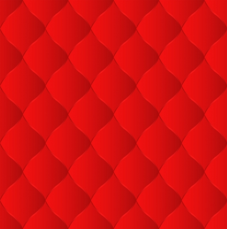 quilted fabric: red background seamless