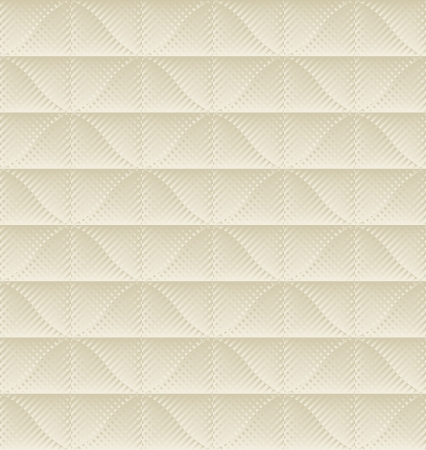 quilted fabric: ecru pattern seamless Illustration
