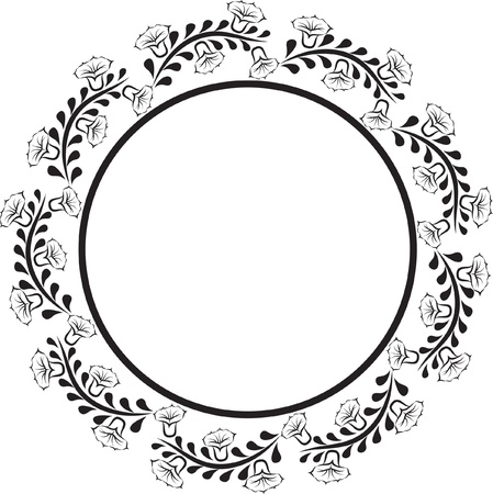 round decorative border Stock Vector - 19133894