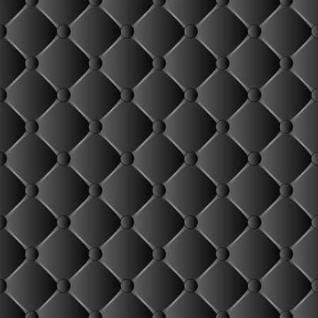 quilted fabric: black neutral background - seamless