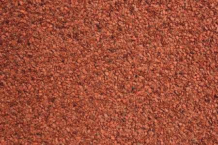 asphalt shingles: red shingle asphalt texture Stock Photo