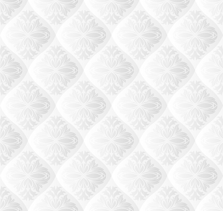 quilted fabric: white background seamless