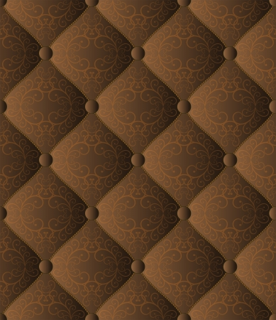 brown quilted fabric seamless