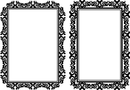 marcos decorados: marcos rectangulares decorativos