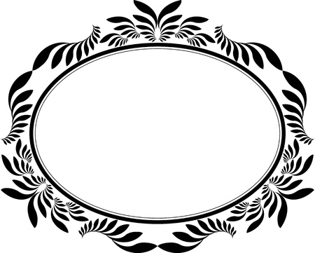 ovals: decorative frame oval