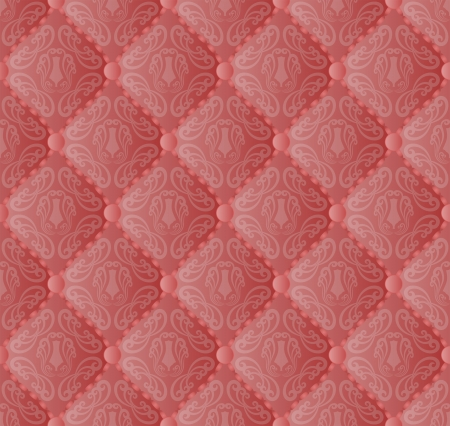 red quilted fabric seamless