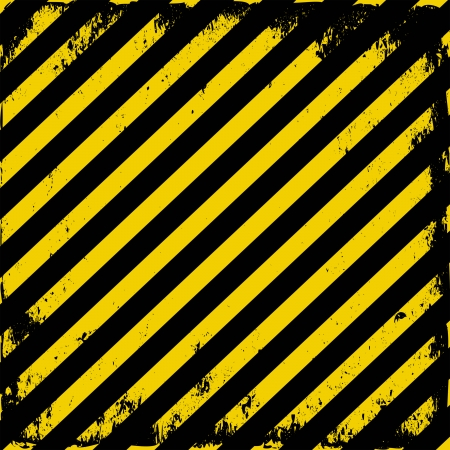 yellow-black grunge barricade tape