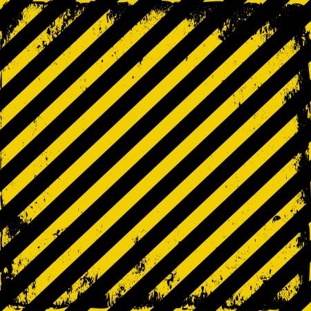 hazard tape: yellow-black grunge barricade tape