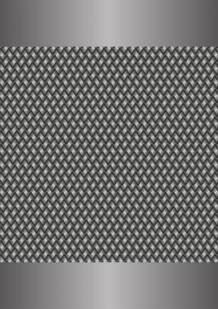 interlace: metallic background Illustration