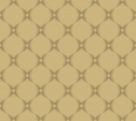 quilted fabric - light brown pattern seamless Vector