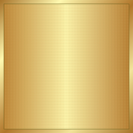 brass plate: golden background with copy space