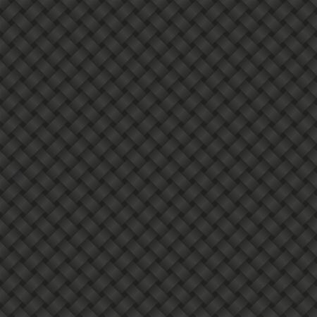 braids: interlace black background seamless