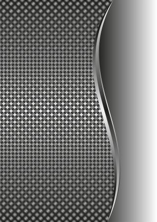 interlace: sfondo metallico con spazio di copia Vettoriali