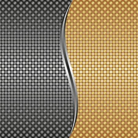 metallic background: gold silver metallic background