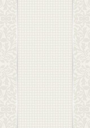 linen texture: fondo de la vendimia con los ornamentos y la textura de lino