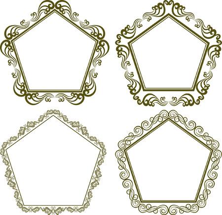 pentagonal: set of pentagonal frames