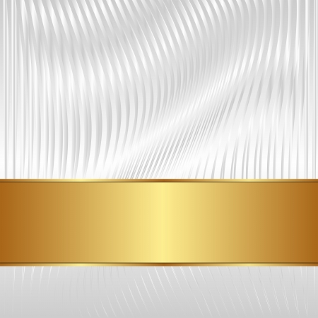brass plate: white background with golden tape