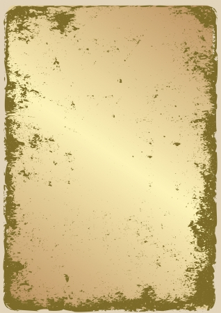 earthy: grunge golden with copy space