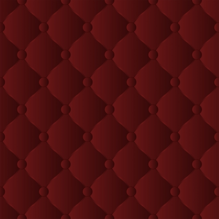 quilted fabric: burgundy background seamless Illustration