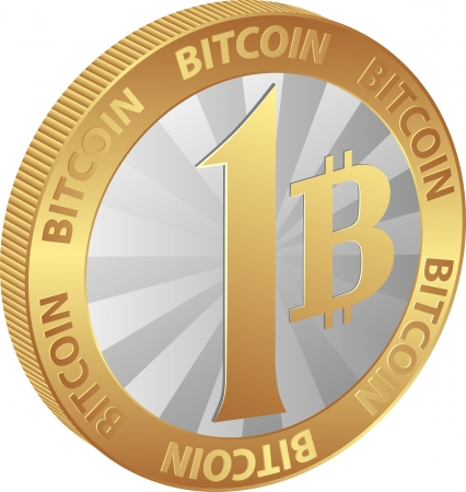opensource: isolated coin of bitcoin - cryptocurrency