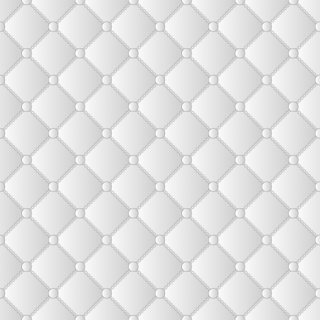 quilted fabric: white and gray seamless background