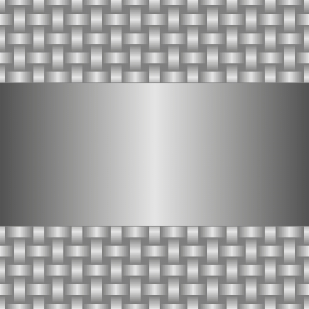 interlaced: metallic background with interlaced texture