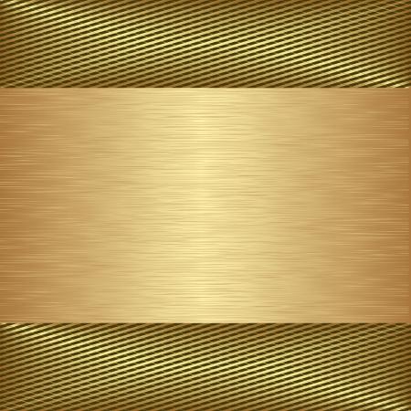 golden textured background Illustration