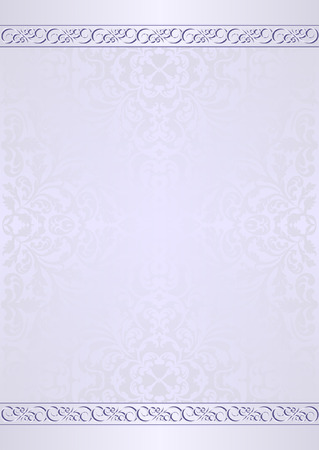 light blue: light blue background with ornaments