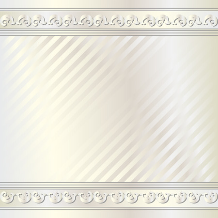 light  glossy: light glossy background with ornaments Illustration
