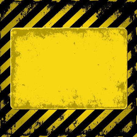 yellow and black grunge background Stock Vector - 25960757