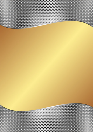 gold and silver background with texture
