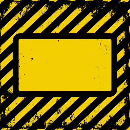 yellow and black grunge background with copy space Vector